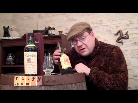 whisky review 173 - Ballantines 17yo Blended Scotch
