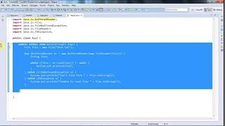 Learn Java Tutorial for Beginners, Part 40  Java 7 Try With Resources