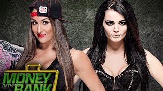 Wwe 2k15 Nikki Bella (caw) VS. Paige (caw) (MITB) Money in the bank