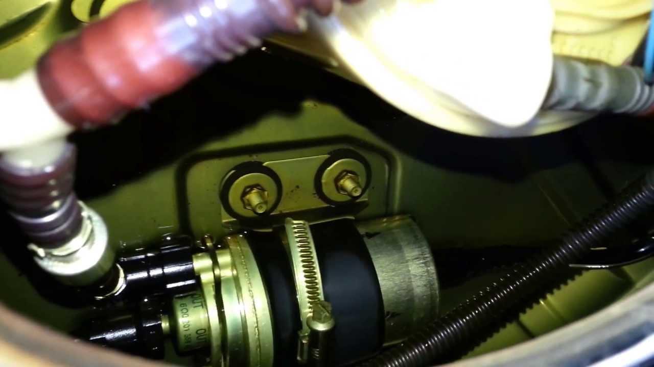 Part 1 2004 Volkswagen Jetta Bbw Fuel Pump Removal