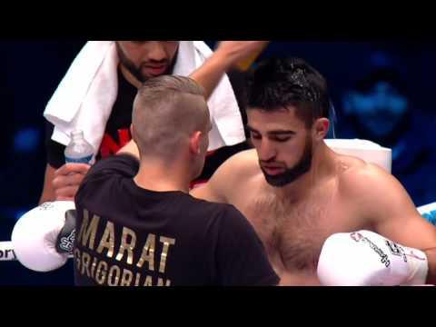 GLORY 28 Paris: Marat Grigorian vs Anatoly Moiseev (Semi Finals)