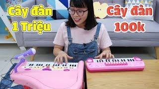 Đồ Chơi Đàn Piano 1 Triệu Và Piano 100K - Thử Thách Chấm Điểm