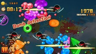 Candy Slice - Android Gameplay [HD]
