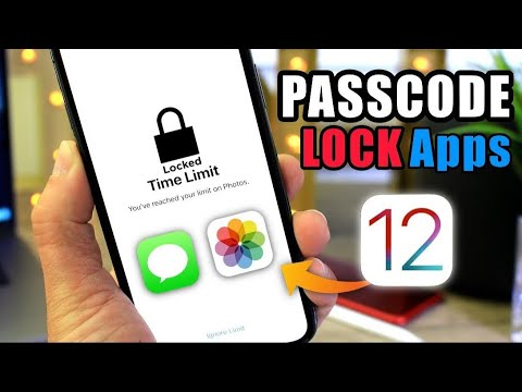 PASSCODE Protect individual Apps on iOS 12