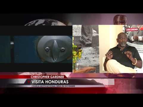 Chris Gardner dará charla motivacional en Honduras