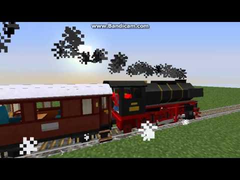 Minecraft - Superflat Train Ride