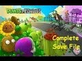 How to install a Plants vs zombies complete save file (2014 WORKS!!!!!)