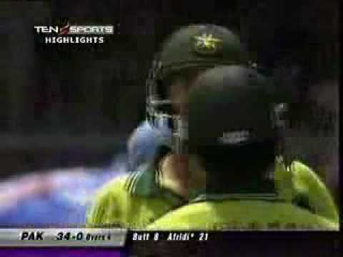 Afridi 2nd Fastest 100 In Odi video