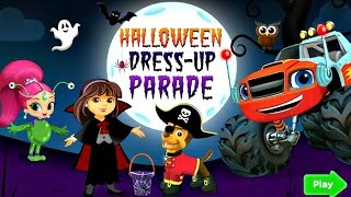 Blaze And The Monster Machines, Paw Patrol - Halloween Dress Up Parade