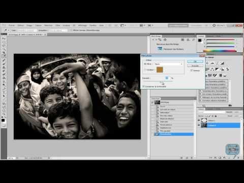 Как сделать в фотошопе фишай