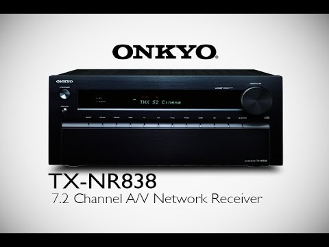 ONKYO - TX-NR838 Network A/V Receiver