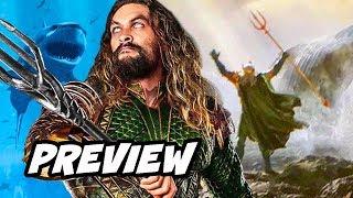 Aquaman Comic Con Trailer Preview and New Armor Breakdown