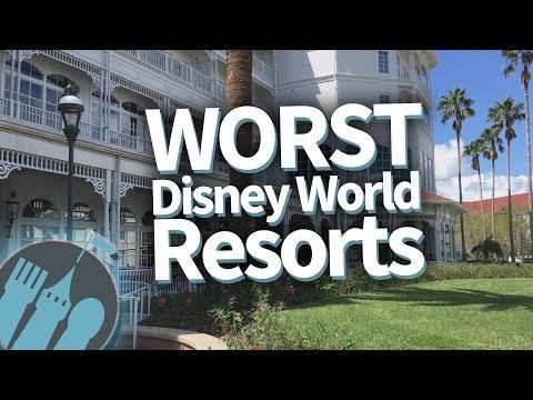 The WORST Walt Disney World Resorts!