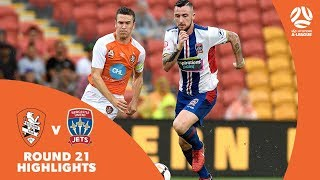 Hyundai A-League 2017/18 Round 21: Brisbane Roar 0 - 1 Newcastle Jets