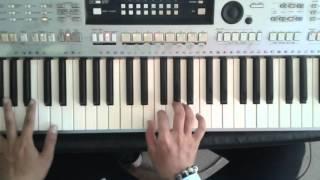 Cách lót câu trong điệu slow rock bằng tiếng string đơn giản