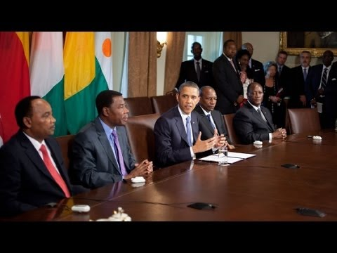 Conversation about the U.S.-Africa Leaders Summit