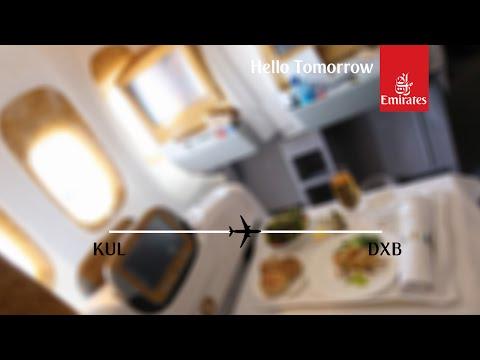 Flight Report: Emirates EK347 Kuala Lumpur to Dubai Business Class