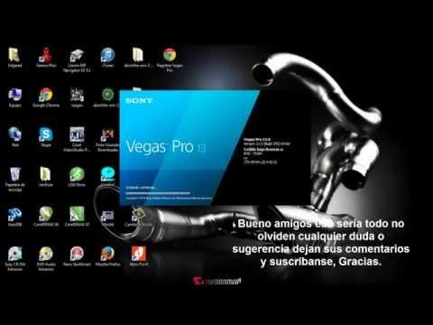 Descargar Sony Vegas Pro 13 Full Español 64 bits 2014