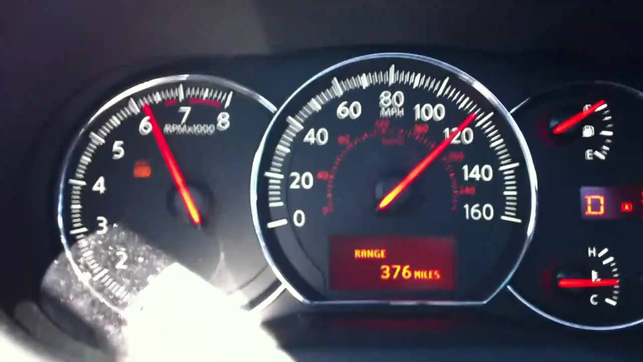 2010 Nissan Maxima Top Speed 60 130