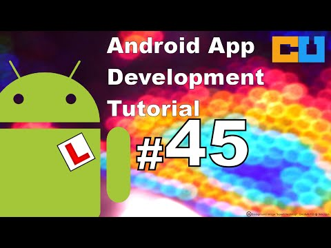 Android Tutorial #45 Animation (11\-) Canvas, draw path , circle and bitmap image.