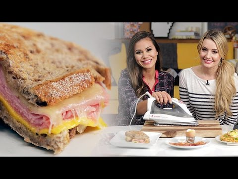 How to Make a Ham and Cheese Sandwich With an Iron!