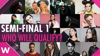 Eurovision 2018: Semi-Final 1 Qualifiers? (PREDICTION)