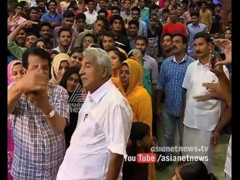New voters of Malappuram interviews Oommen Chandy