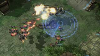Starcraft 2  (Patch 3.9): Easy  Counter to Late Game Battlecruisers