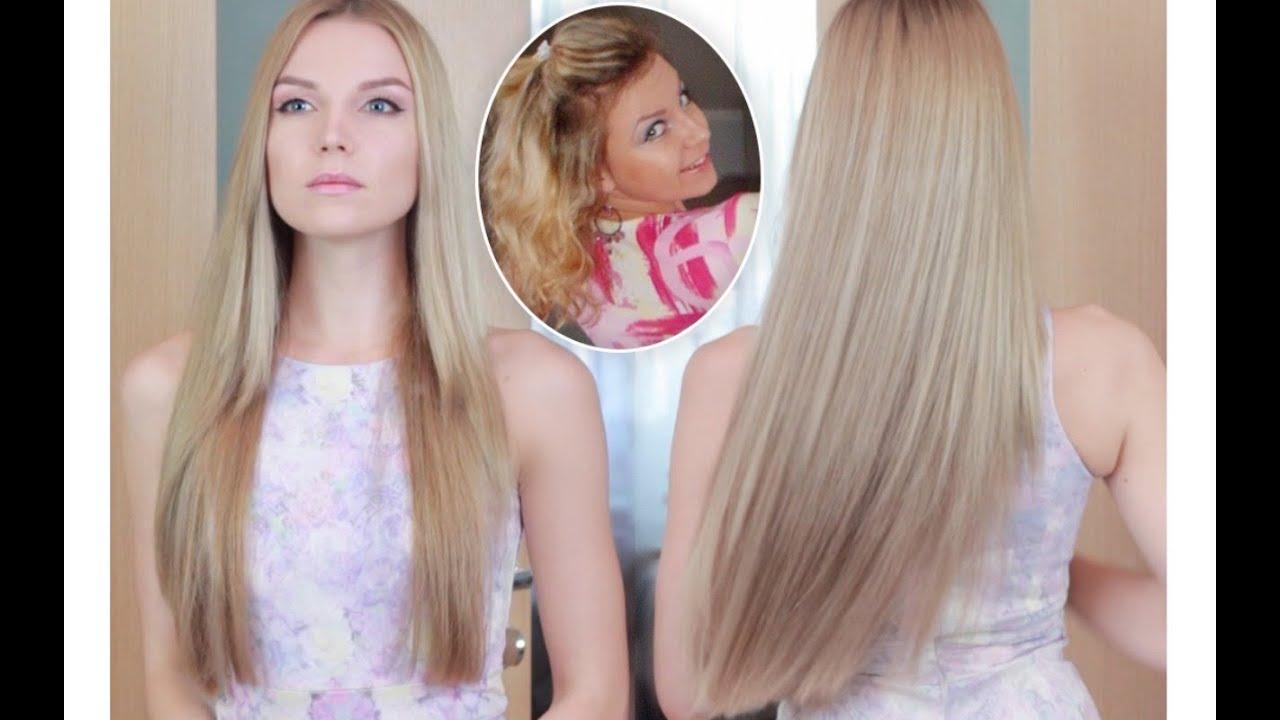 Как сделать свои волосы светлыми 203