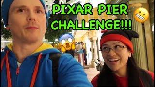 PIXAR PIER CHALLENGE!!!