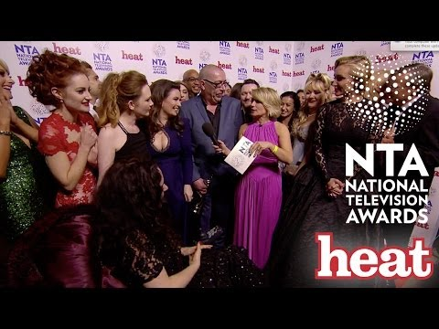Coronation Street Exclusive National Television Awards 2014