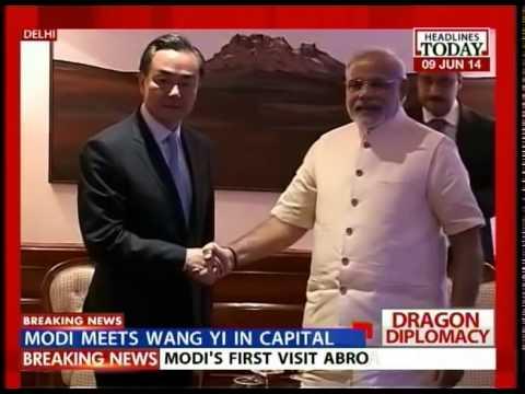 After Sushma, Wang Yi meets PM Narendra Modi