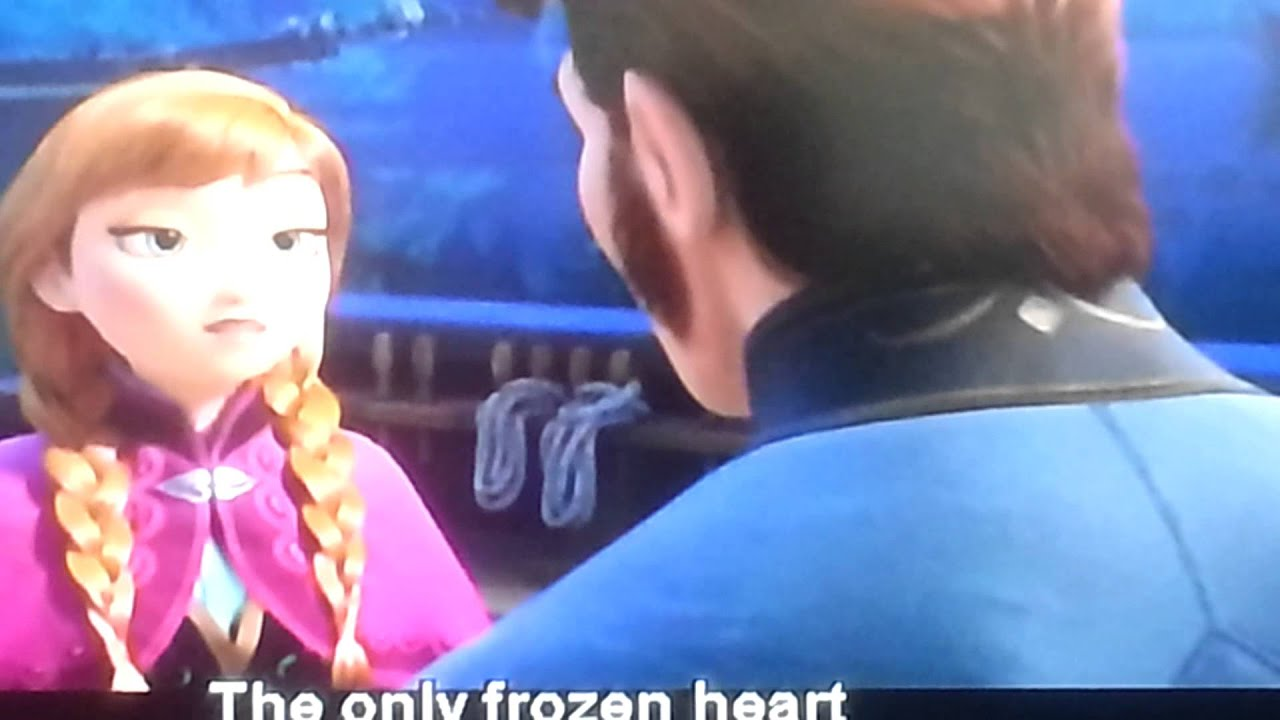 Princess Anna Punch Prince Hans Frozen YouTube