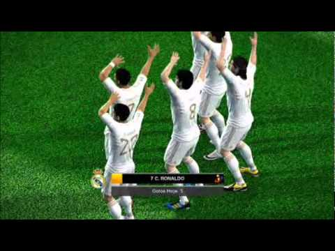 Ai se eu te pego- CR7 PES2012 fun! Music Videos