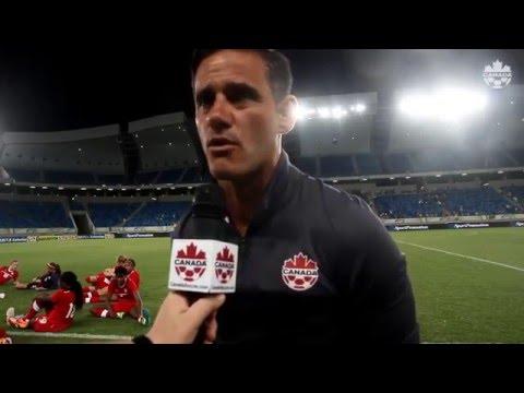 Canada 1:2 Brazil : Post-match comments form Josée Bélanger and John Herdman