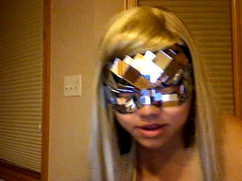 lady gaga poker face mask. LOL Lady Gaga Poker Face