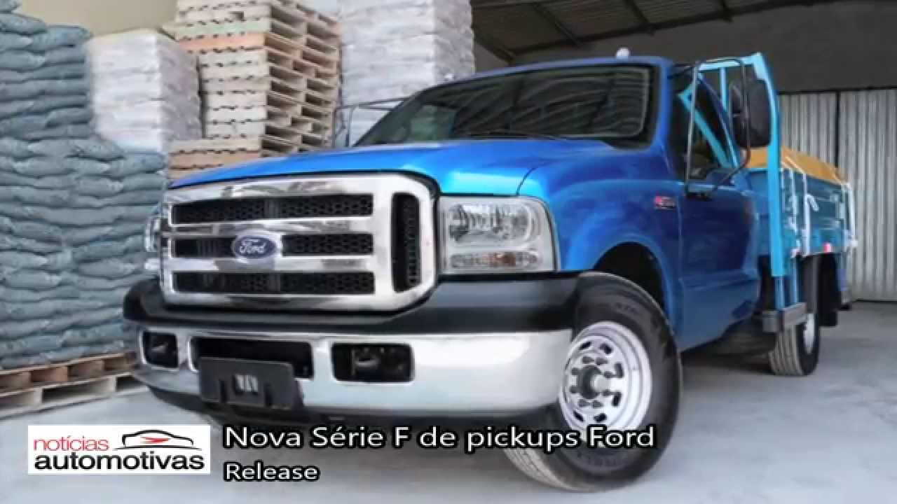 Nova Série F 2015 de pickups Ford (F350 e F4000) - YouTube