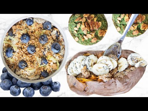 HEALTHY BREAKFAST IDEAS! EASY AND QUICK FOR SCHOOL!