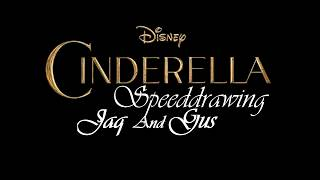Disney Speeddrawing - Cinderella - Jaq and Gus