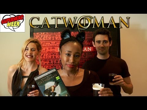 Catwoman Drinking Game with JC Coccoli!  - Movie Buzz