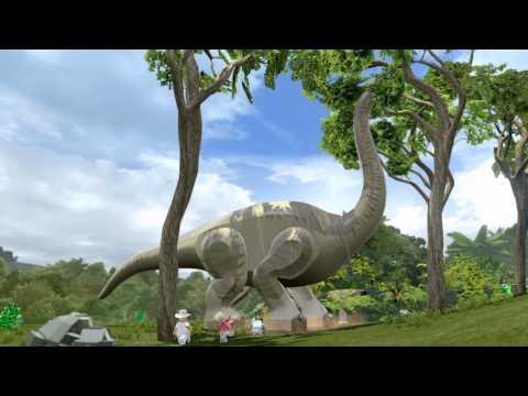 LEGO Jurassic World Dinosaur Gameplay Trailer
