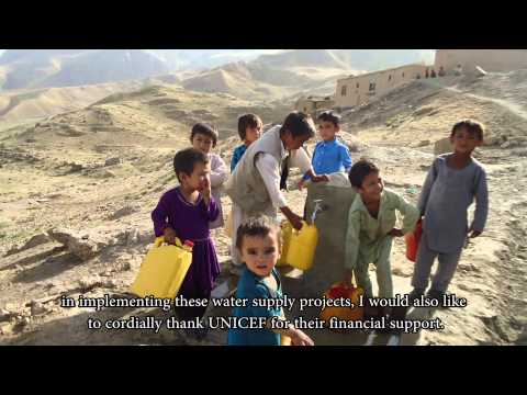 Pipe Scheme project in Nahr e Shahi district of Balkh province