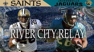 """The River City Relay"" (Saints vs. Jaguars 2003, Week 16)"