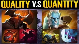 QUALITY VS QUANTITY illusions War - Chaos Knight VS Phantom Lancer Dota 2