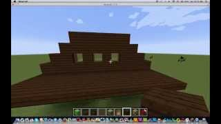 Minecraft: How to build a farm pt1: a small house