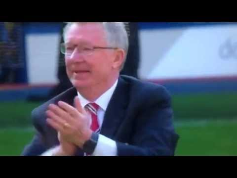 Alex ferguson pays tribute to the Manchester United fans