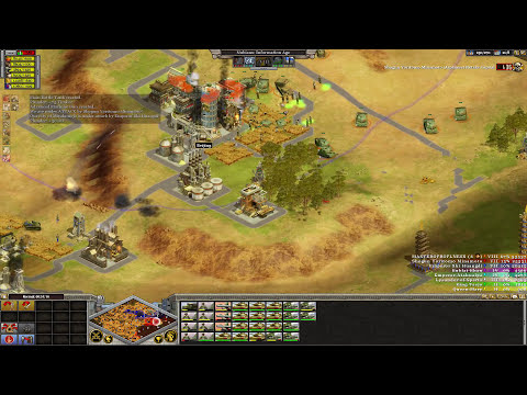 Rise Of Nations : Extended Edition Eight Player Skirmish Free For All Gameplay (Nubians)