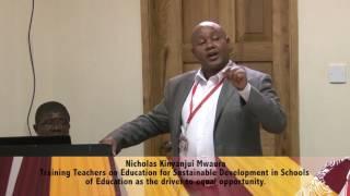 Download Nicholas Kinyanjui Mwaura at Education Interdisciplinary Session 2017 3Gp Mp4