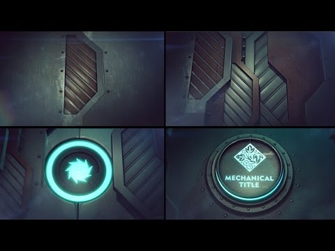 Mechanical Iron Logo Reveal ( Videohive After Effects Template )