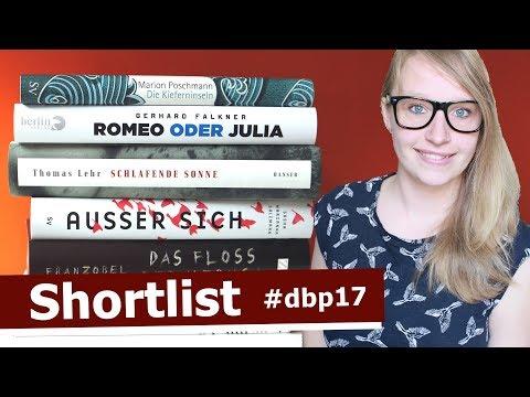 SHORTLIST #dbp17 | Deutscher Buchpreis | Vorstellung der 6 Bücher